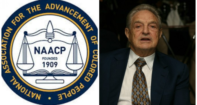 """NAACP Joins Soros Coalition to Conduct """"one of the largest civil disobedience actions in a generation"""""""