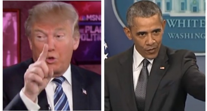 Trump Reveals How He'll Make Mexico Will Pay for Border Wall, Obama Immediately Responds