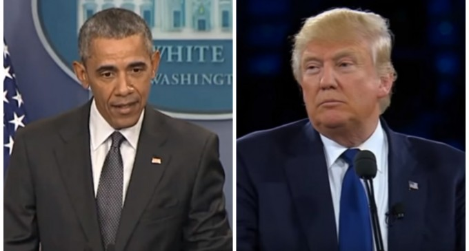 Obama Calls The Donald Unfit for Presidency, Suggests He Won't Accept His Election