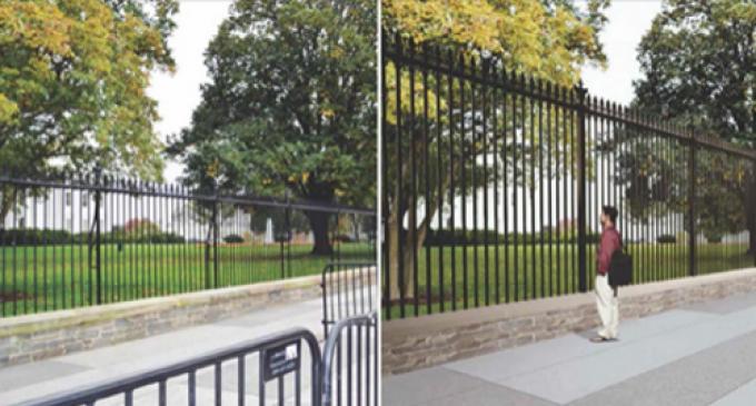 Trump Trolls Obama after Secret Service Announces WH Fence Upgrade
