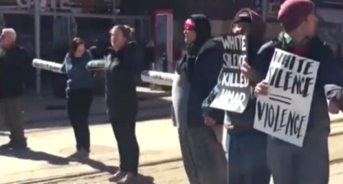 Minneapolis Black Lives Matter Activists Block Trains at Twins Home Opener