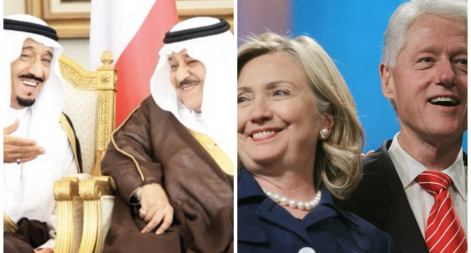 Persian Gulf Sheiks Buy Bill and Hillary Clinton for $100 Million