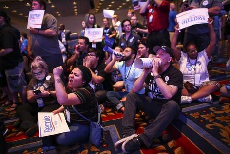 Chaos at Nevada Democratic Convention