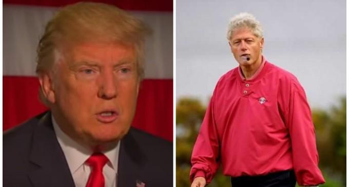 Trump Calls Out Bill Clinton on Rape Allegation