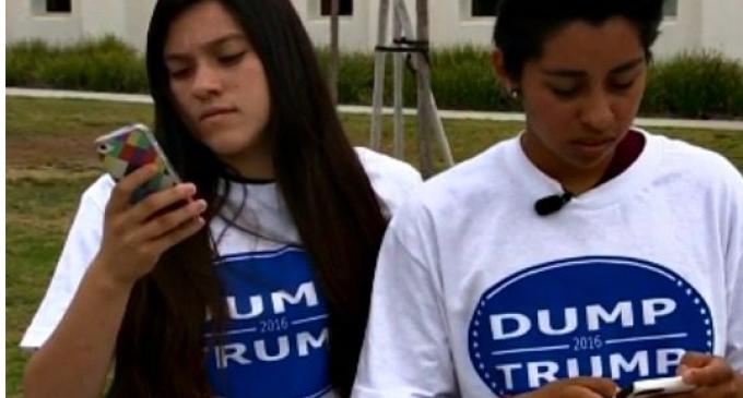 "CA Court OKs US Flag T-Shirt Ban while Local School approves ""Dump Trump"" Shirts"