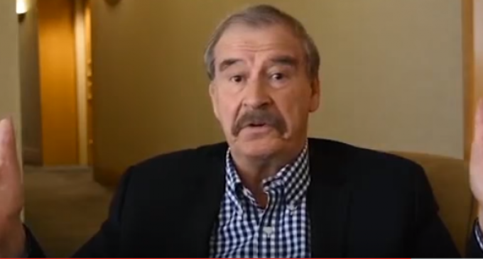 Vicente Fox Threatens War with Mexico if Trump is Elected