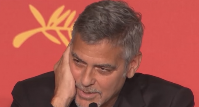 """George Clooney: """"There's not Going to be a President Donald Trump"""""""