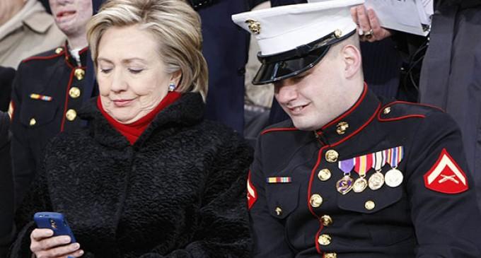 A Marine's Poetic Rebuke of Obama and Hillary