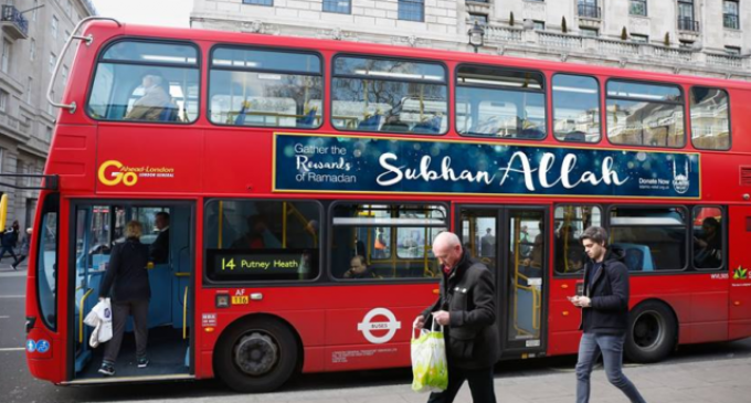 London Buses Now Declare 'Glory To Allah'