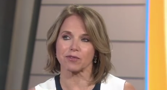 "Katie Couric: Saying Armed Good Guys Stop Bad Guys Is A ""Specious Argument"""