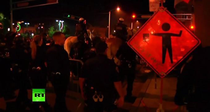 New Mexico Anti-Trump Protests Turn Violent