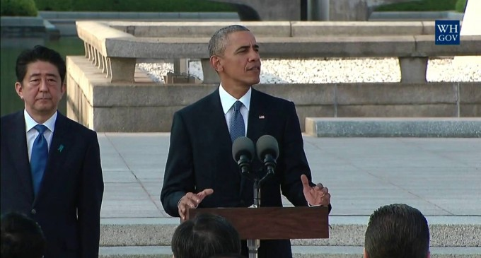 Hiroshima: Latest and Most Egregious stop on Obama Apology Tour leads to calls for Congressional Censure