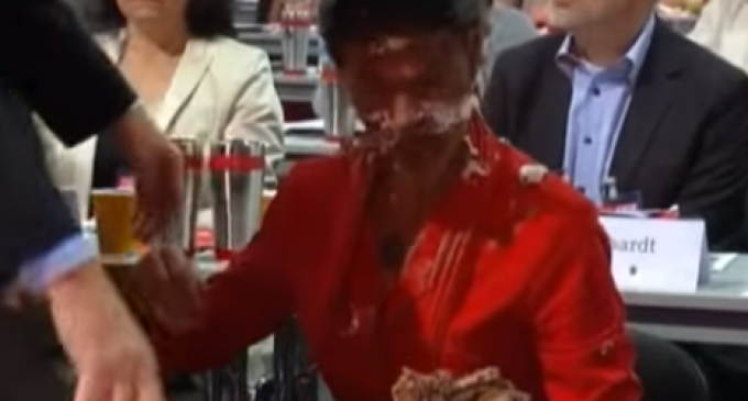 German Politician Attacked for Anti-Merkel Immigrant Position