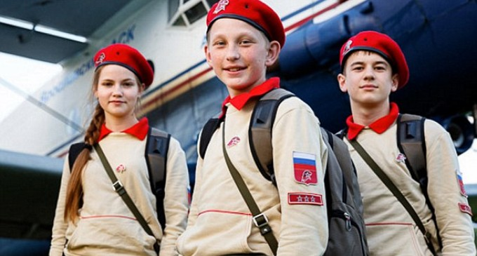 Putin's Youth Army Movement Draws Concerns from Critics Citing Parallels with Hitler