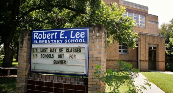 War on History Continues: Robert E Lee Elementary School Name Changed