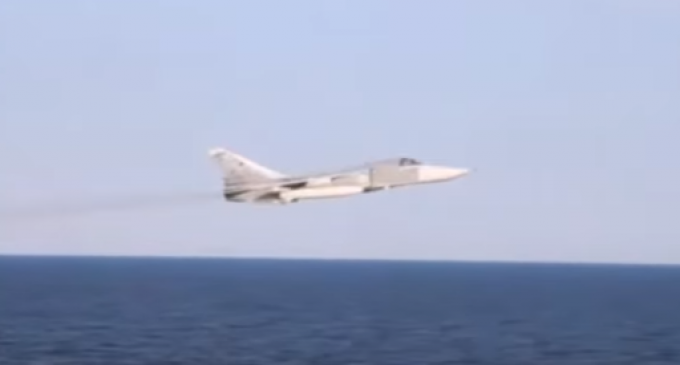 Navy Releases Full Video Compilation of Russian Fighter Jets Buzzing US Warship