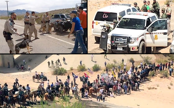 Image result for Defending the bundy Ranch images