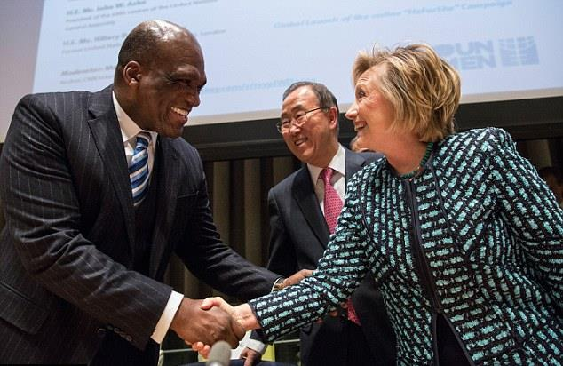 """Former UN President John Ashe's Death is """"Conveniently Timed"""" for Hillary Clinton"""