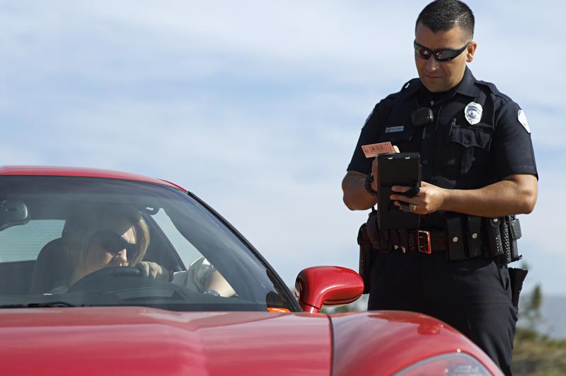 cop ticket