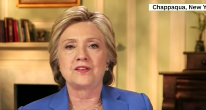 Hillary Clinton Admits to Bookkeeping Blunders