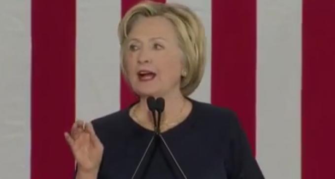 Hillary Clinton Demands Ban On Assault Weapons