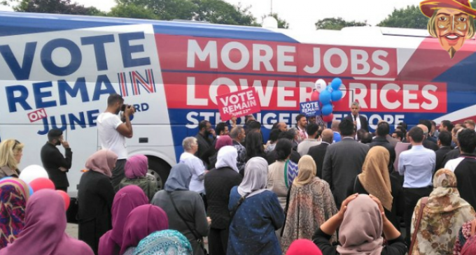 Women Relegated to Back of London's Muslim Mayor's Rally