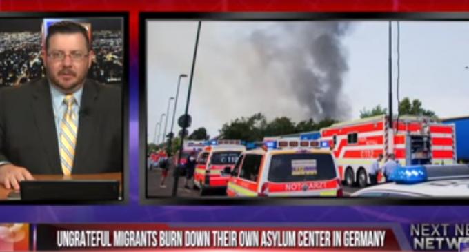 Migrants Burn Down German Asylum Center after not Receiving Ramadan Wake Up Call