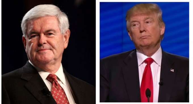 Donald Trump Offered $200 Million in Donations — If He Picks Gingrich as Running Mate