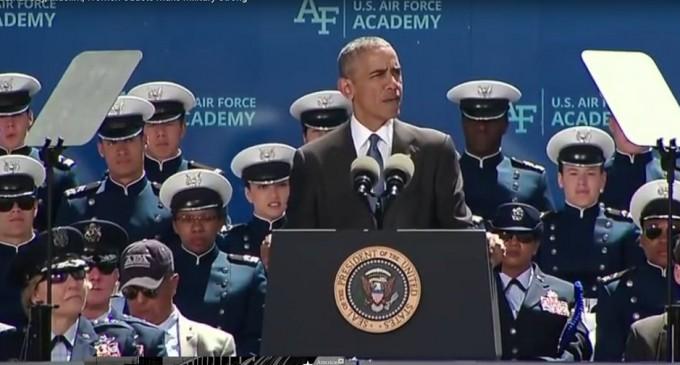 Obama: Gays, Lesbians, Muslims make U.S. Military Stronger