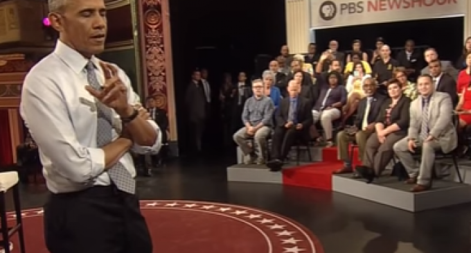 Obama Responds at Town Hall: Why do you want to restrict 'good' gun owners?