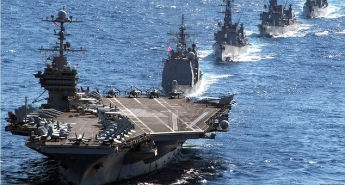 BBC Reporter: The United States is Prepping for War with China