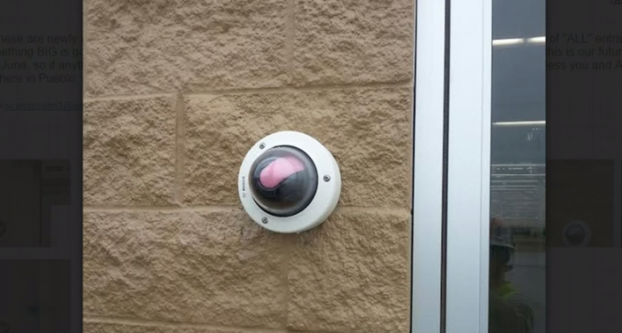 Walmart Eye-Level Security Cameras
