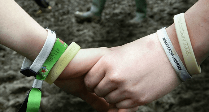 Police Introduce 'Don't Touch Me' Wristbands to Prevent Migrant Sex Attacks