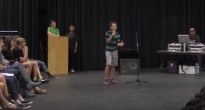 "14-year-old's ""White Boy Privilege"" Poem Goes Viral"
