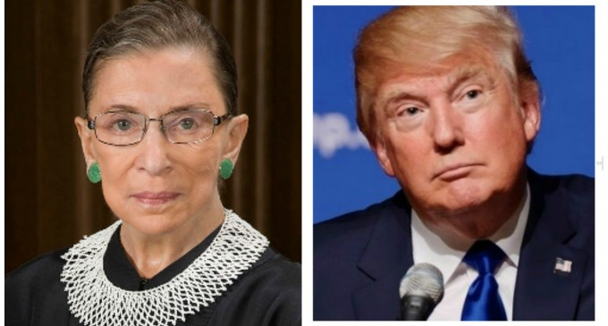 "Justice Ginsburg: ""My recent remarks"" Regarding Trump ""were ill-advised and I regret making them"""