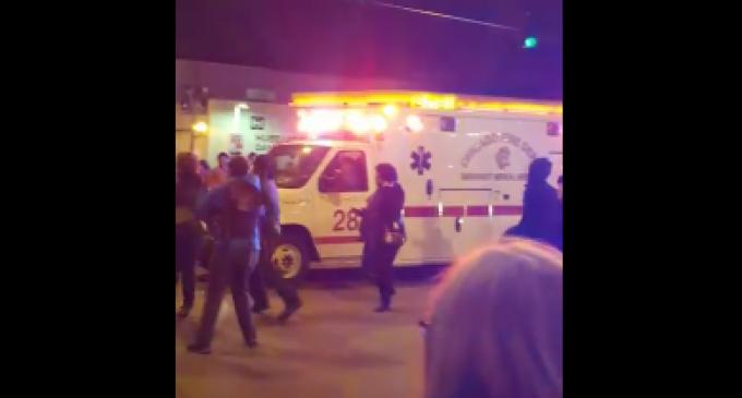 BLM Blocks Ambulance at Trump Rally