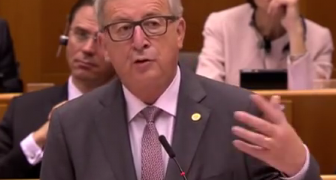 EU Comm Pres: I've 'listened to several of the leaders of other planets', 'They're very worried' 'about the path the European Union' will take