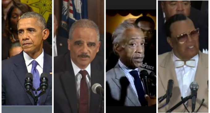 "Obama, Holder, Sharpton, Farrakhan, BLM Leaders Named in Federal Lawsuit for ""Inciting Violence"" Against Police"