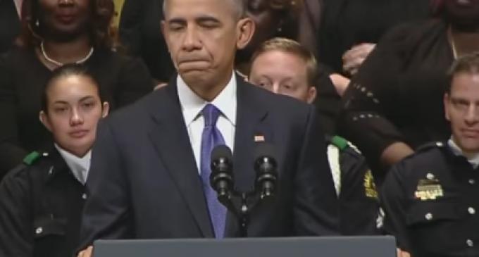 "Barack Obama: ""It Hurts"" to See Whites not Support Black Lives Matter"