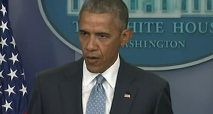"Obama: ""We Don't Need Inflammatory Rhetoric"" Against Cop Killers"