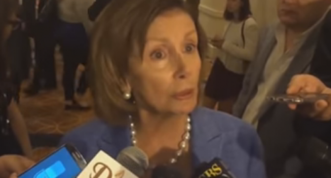 Nancy Pelosi Booed Off Stage During DNC Breakfast