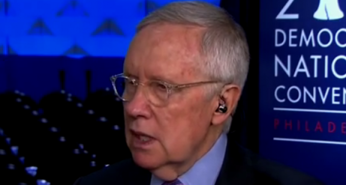 Harry Reid Calls on Intelligence Agencies to Give 'Fake' Briefings to Trump