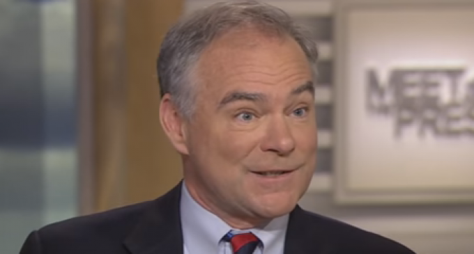 Tim Kaine: Whites Should Become the Minority