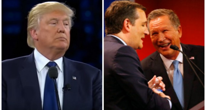 Trump Reportedly Planning to Fund Super PACs to Take Down Cruz and Kasich