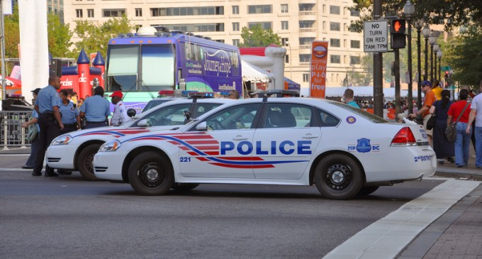 Five Arrested After Shooting at D.C. Police
