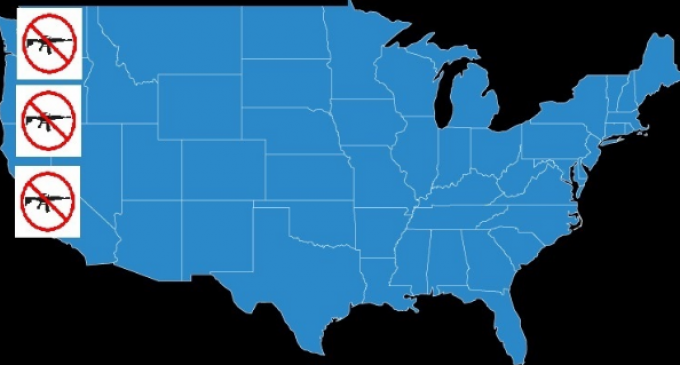 "Anti-2nd Amendment Groups Push for ""West Coast Wall"" of Gun Control"