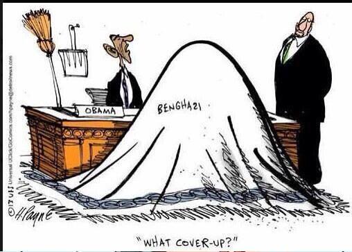 Obama Benghazi cartoon
