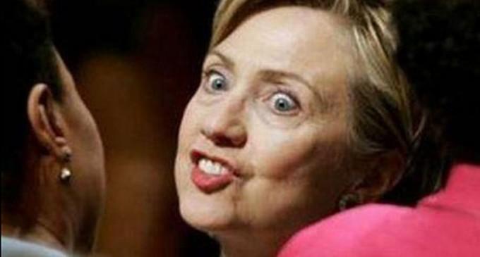 Clinton Takes Another Tumble