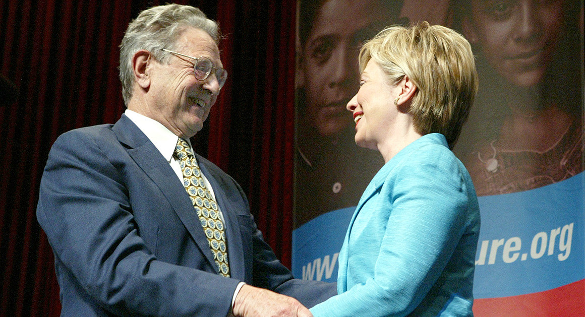 Report: Part of $90 Billion Donated to Fight AIDS Made It to Clintons, Soros and Others