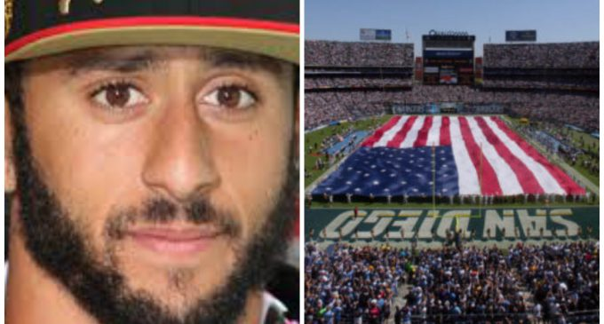 Chargers Plan to Greet Kaepernick with a 'Salute to the Military'
